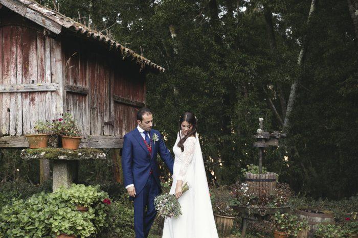 Sesión de boda en exteriores de Pontevedra