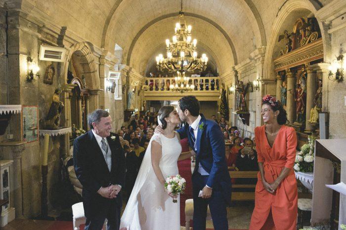 Fotografía boda en Iglesia en Pontevedra