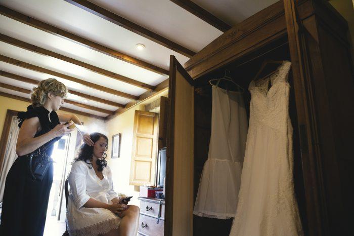 Fotografía previa a la boda en Pontevedra