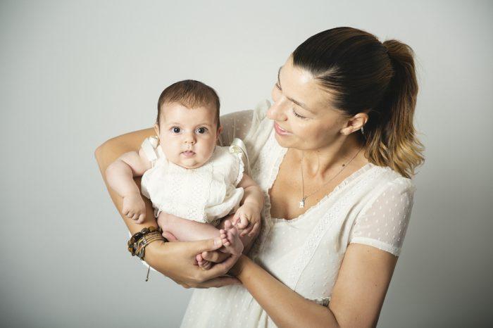 foto estudio bebe y familias